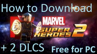 LEGO MARVEL SUPER HEROES 2 + 2 DLCS Download Full Version Game - FitGirl Repacks