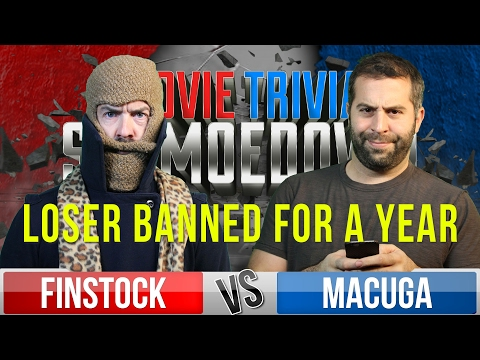 Movie Trivia Schmoedown - Josh Macuga Vs Finstock