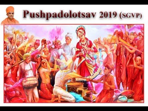 Pushpadolotsav Celebration 2019 | SGVP Ahmedabad | Holi festival | Rangotsav |