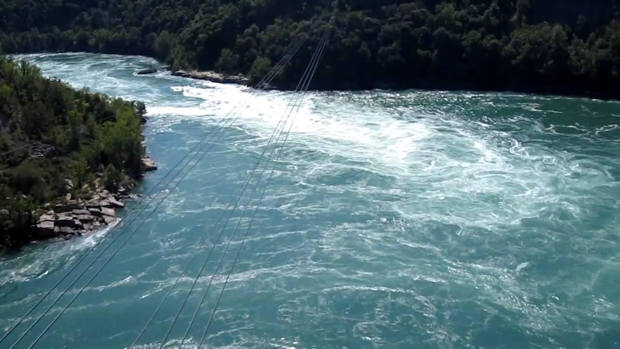 The Niagara River Whirlpool  YouTube