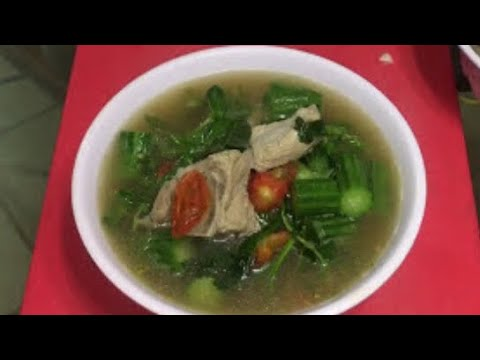 How to make kang mark noy soup ( LAO FOOD ) HOME MADE BY KAYSONE