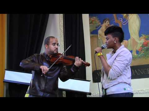 Daniel Bernard Roumain at Malcolm X Shabazz High School