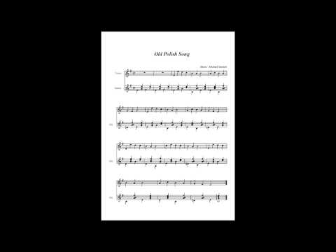 Old Polish Song (Finale Songwriter Score and Audio File)