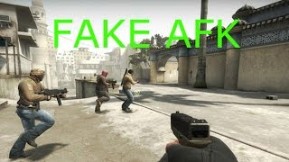 CS:GO fake Afk