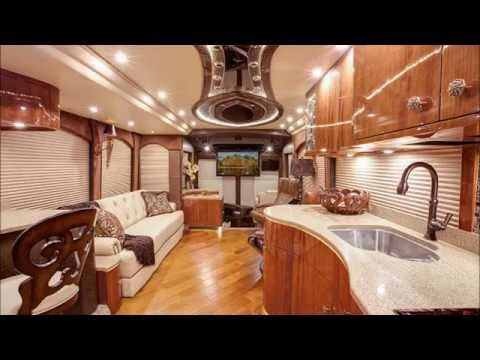 Luxury rv interior - 2015 Millennium Prevost H3 45 S3 10093 Youtube