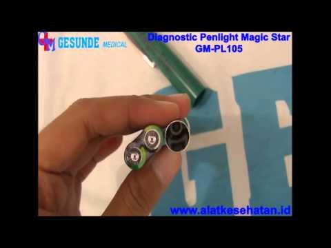 Diagnostic Penlight Magic Star Gm Pl105 Wwwalatkesehatanid