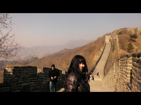 The Great Wall of China: Mutianyu. Anna & Paul go to China.