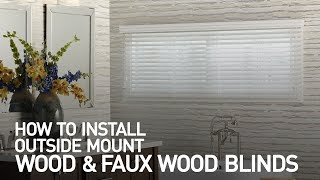 How to Install Outside Mount Wood and Faux Wood Blinds Mp3