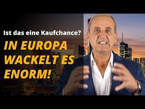 In Europa wackelt es enorm! Meine Tipps in diesem Umfeld ... | Florian Homm