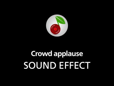 Crowd applause, SOUND EFFECT