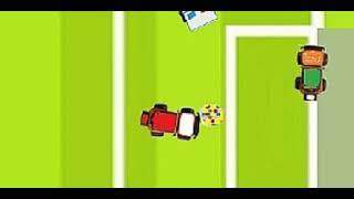 Super saves from car goalkeeper (cartoon for kids)/ Funny soccer whith cars. (whithoun music no)