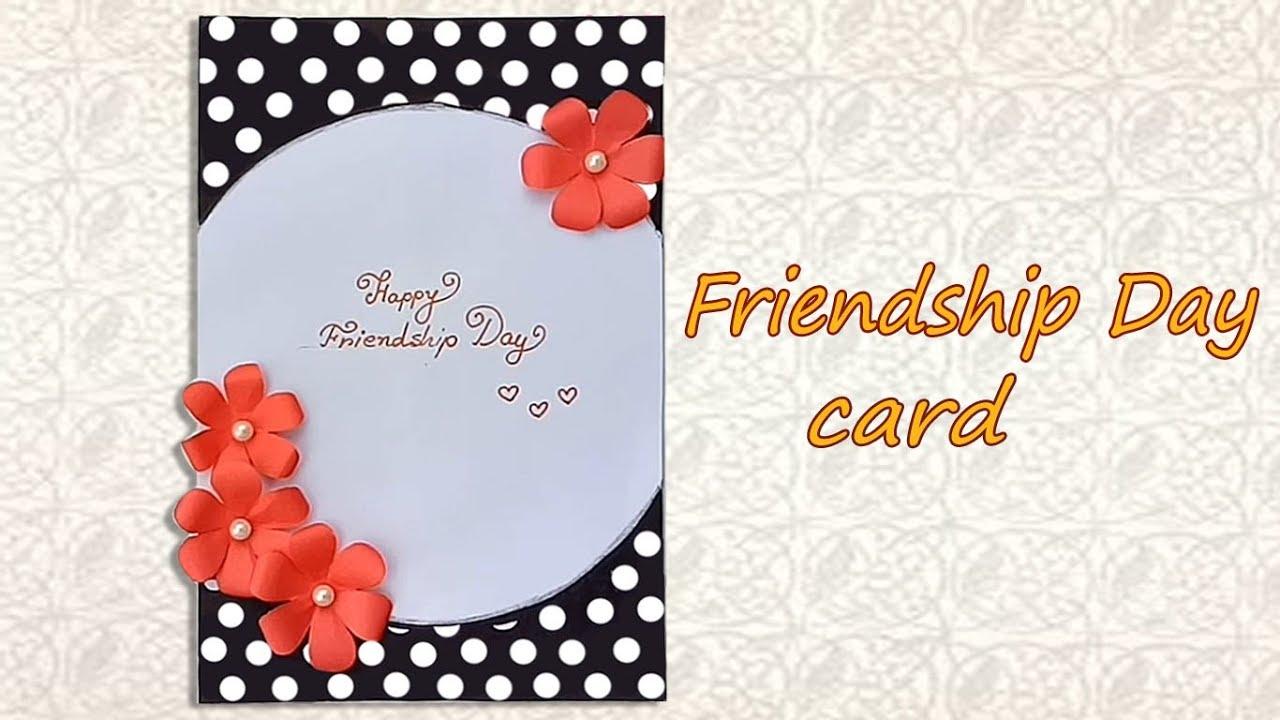 Handmade Friendship Day Card Idea Diy Friendship Day Card
