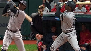 NYY@CLE Gm5: Didi homers off Kluber twice