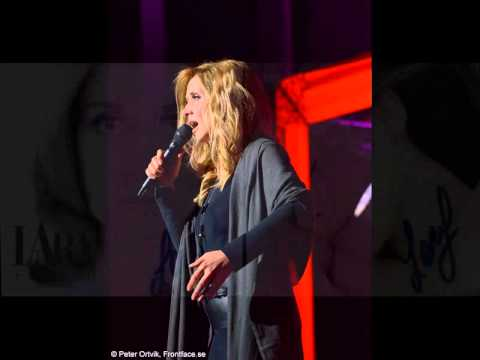 Lara Fabian Interview in Stockholm 2015