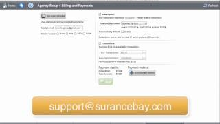 Surelc bill and pay tab agency final