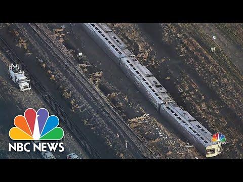 Three Killed, Dozens Injured in Amtrak Train Derailment