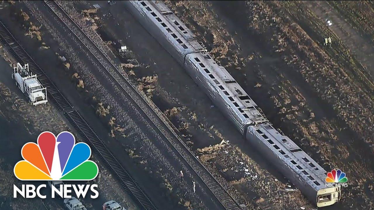 Download Three Killed, Dozens Injured in Amtrak Train Derailment
