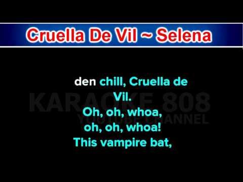 Cruella De Vil ~ Selena Gomez ~ New Karaoke ~ Karaoke 808