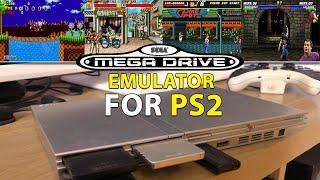 Sega Megadrive emulator [Pgen] for the PS2 (Playstation 2) [Emulation Test]