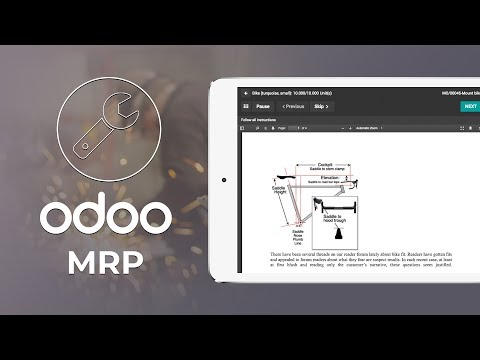 Odoo MRP: A modern solution to manage Manufacturing