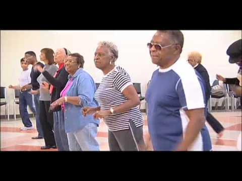 Seniors Resource Center Line Dancing