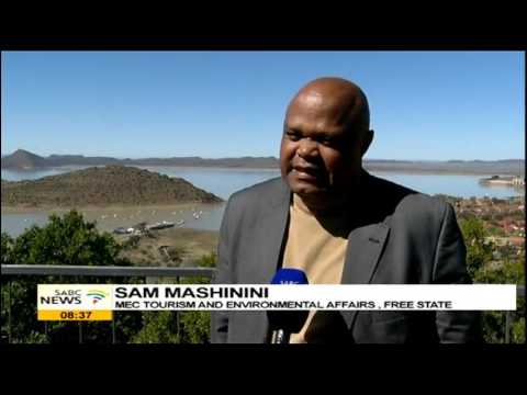 Gariep Dam, one of the tourism destination in Free State