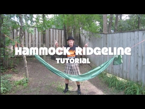hammock ridgeline tutorial   youtube  rh   youtube