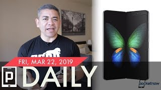 Samsung Galaxy Fold Benchmarks, Facebook Password Breach & more - Pocketnow Daily