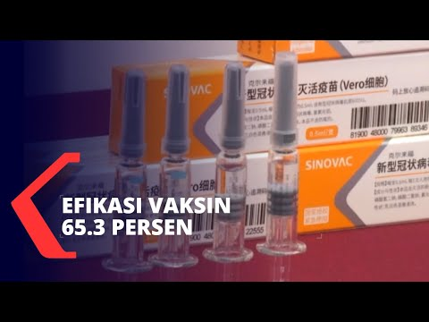 Efikasi Vaksin Corona Sinovac Sebesar 65.3 Persen