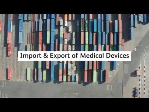 Import & Export Of Medical Devices