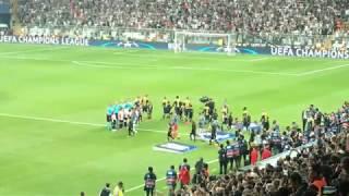 Beşiktaş JK - RB Leipzig Maç Öncesi ve Başlama Anı (İlk Üçlü) (1080p60fps)