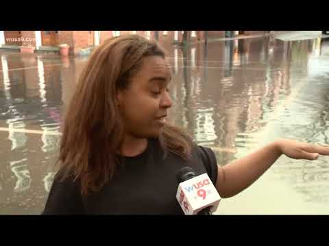 Watching for flood damage across the region