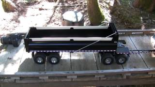 RC Quad Wagon Dump Trailer