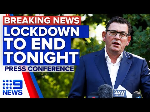 Coronavirus: Victoria 5-day snap lockdown will end at midnight | 9 News Australia