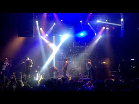 Alesana – Oh, How The Mighty Have Fallen - Live @ Moscow 03.09.2015 HD