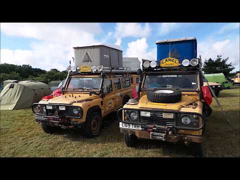 A visit to Kelmarsh - The Original Land Rover Show