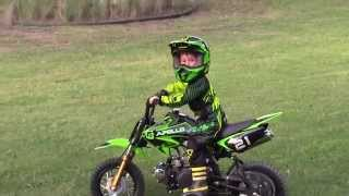 Kids Dirt Bike With Training Wheels