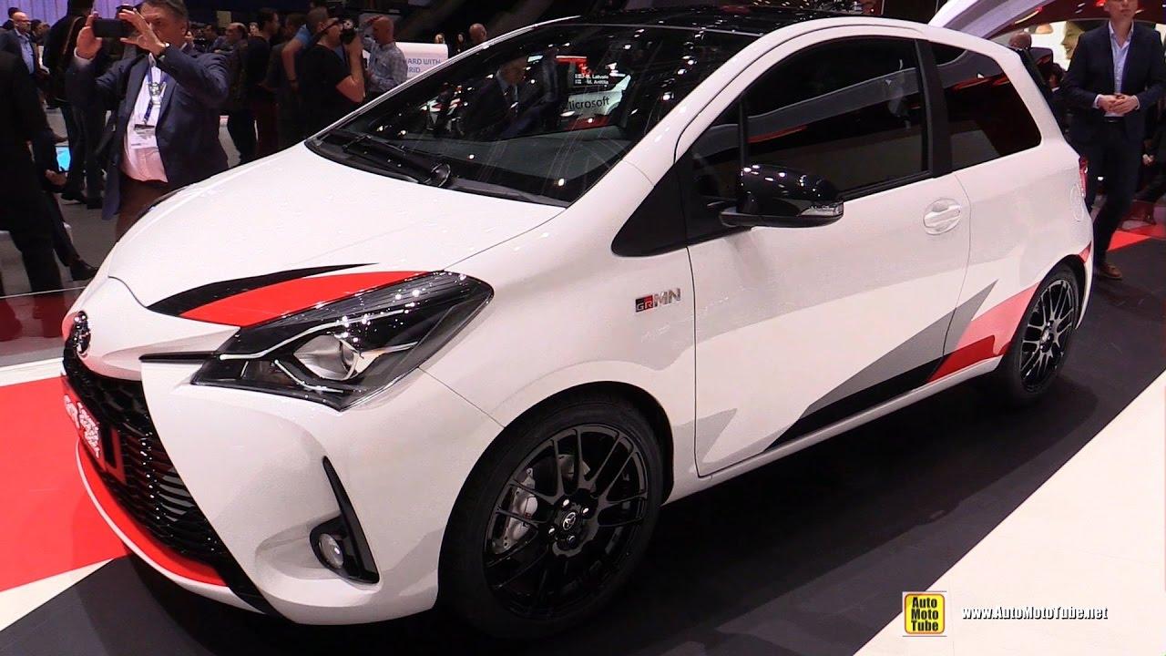 2018 Toyota Yaris Exterior And Interior Walkaround Debut At 2017