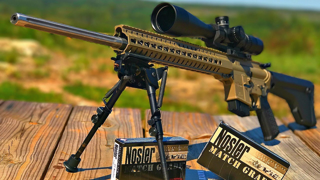 CMMG MK4 V2 in 22 Nosler    Fast and Furious