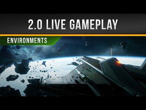 ✖ Star Citizen » PTU 2.0 Live Gameplay