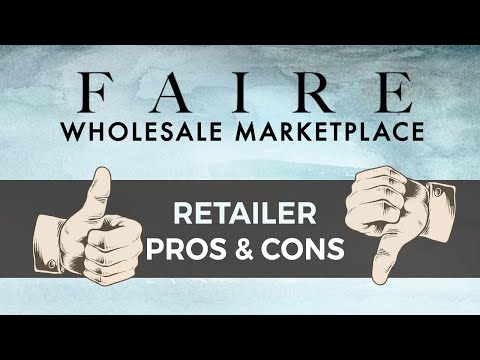 Faire Wholesale Review Part 1: Basics And Pros & Cons For Retailers