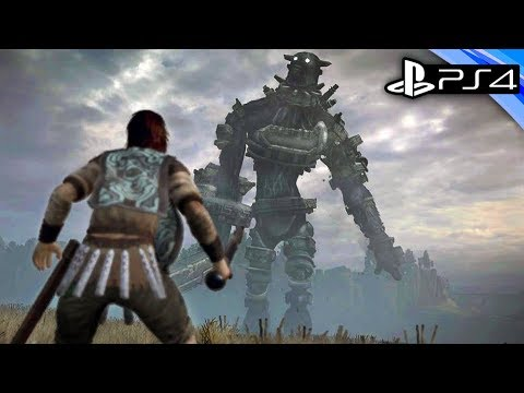 Shadow of the Colossus PS4 Gameplay   Colossus Hunting