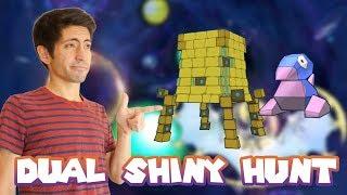 DUAL SHINY HUNT! SHINY STAKATAKA AND PORYGON! Pokemon Ultra Sun/Ultra Moon! Come hangout!