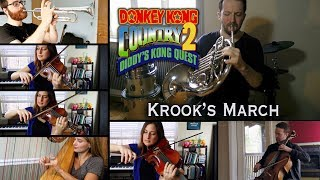 Donkey Kong Country 2: Krook's March / Toxic Tower || Mini Orchestra cover
