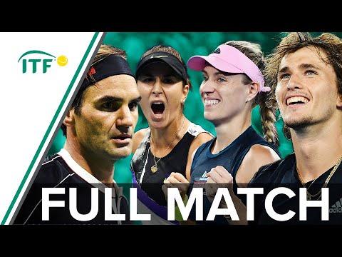 Zverev/Kerber v Federer/Bencic | Germany v Switzerland | Full Match | Hopman Cup Final 2019 | ITF