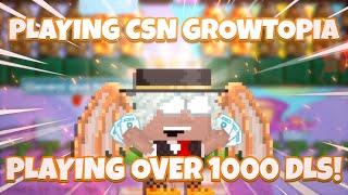 GROWTOPIA CASINO 1000DL VS 1000DL (Total) Biggest BET!