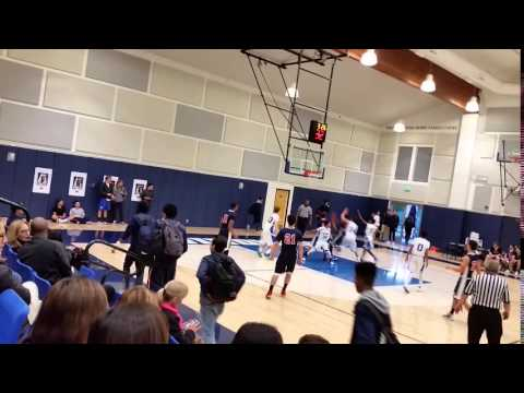 Crossroads Benjamin Terry Lightning Speed vs Windward School - 2016