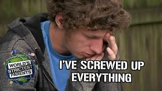 Teen breaks down after getting letter from Dad | Supernanny USA