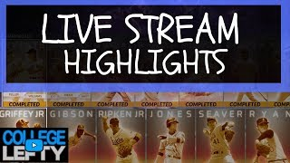 HIGHLIGHTS FROM VIEWER GAMES WITH LEFTY! MLB THE SHOW 18