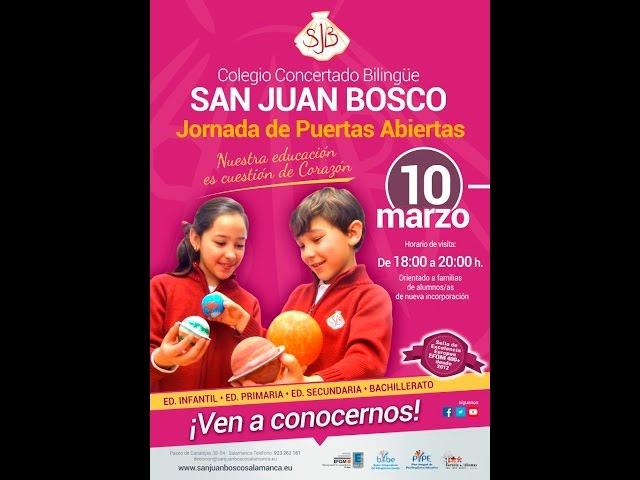 Colegio San Juan Bosco Salamanca Presentación Ed  Infantil